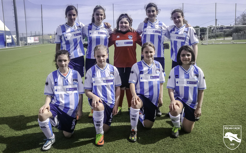 Domenica mattina sosteniamo le Delfinette per il Danone Nation Cup  PESCARA Calcio 1936