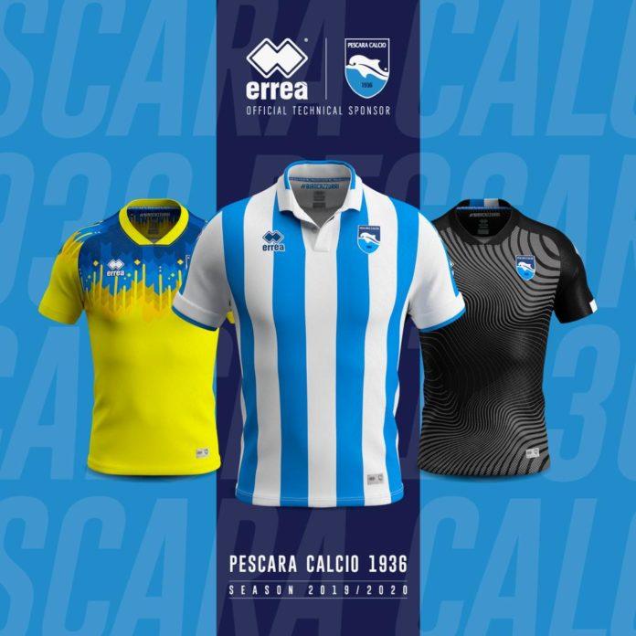Calendario Pescara Calcio 2020.Le Nuove Divise 2019 2020 Pescara Calcio 1936