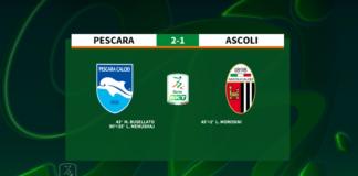 Pescara - Ascoli 2-1